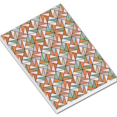 Allover Graphic Brown Large Memo Pads