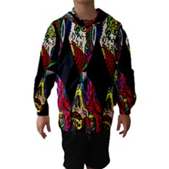 Birds Of Eight Hooded Wind Breaker (Kids)