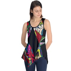 Birds Of Eight Sleeveless Tunic