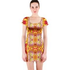 Kenya lit0310031005 Short Sleeve Bodycon Dress