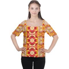 Kenya lit0310031005 Women s Cutout Shoulder Tee