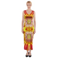 Lit0310031002 Fitted Maxi Dress