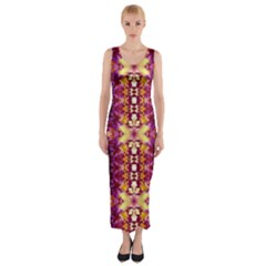 0211005007 Kellyville Fitted Maxi Dress