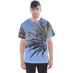 Tropical Palm Tree  Men s Sport Mesh Tee