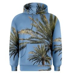 Tropical Palm Tree  Men s Pullover Hoodie