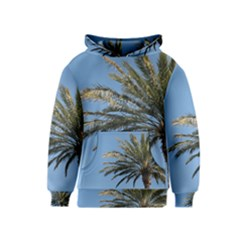 Tropical Palm Tree  Kids  Pullover Hoodie