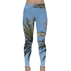 Tropical Palm Tree  Yoga Leggings