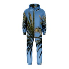 Tropical Palm Tree  Hooded Jumpsuit (kids)