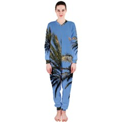 Tropical Palm Tree  Onepiece Jumpsuit (ladies)
