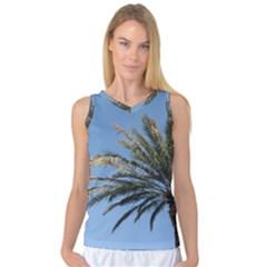 Tropical Palm Tree  Women s Basketball Tank Top