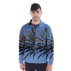 Tropical Palm Tree  Wind Breaker (men)