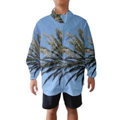 Tropical Palm Tree  Wind Breaker (kids)