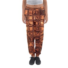 Glossy Tiles, Terra Women s Jogger Sweatpants