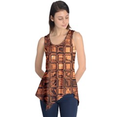Glossy Tiles, Terra Sleeveless Tunic