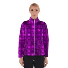 Glossy Tiles,purple Winterwear