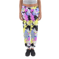 Abstract Women s Jogger Sweatpants