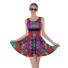 May Your Wonderful Dreams Come True In Fauna   Skater Dress