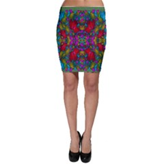 May Your Wonderful Dreams Come True In Fauna   Bodycon Skirts