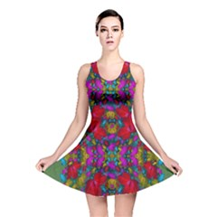 May Your Wonderful Dreams Come True In Fauna   Reversible Skater Dress