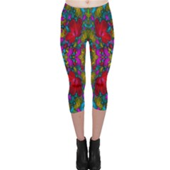 May Your Wonderful Dreams Come True In Fauna   Capri Leggings