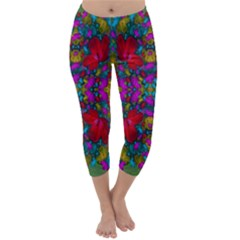 May Your Wonderful Dreams Come True In Fauna   Capri Winter Leggings
