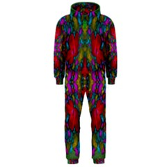 May Your Wonderful Dreams Come True In Fauna   Hooded Jumpsuit (Men)