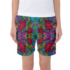 May Your Wonderful Dreams Come True In Fauna   Women s Basketball Shorts