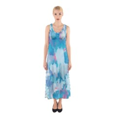 Abstract #2 Full Print Maxi Dress