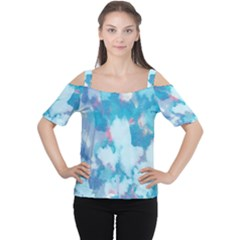 Abstract #2 Women s Cutout Shoulder Tee