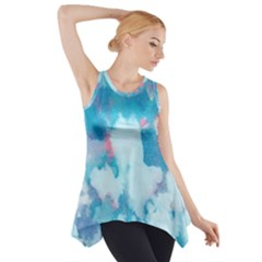 Abstract #2 Side Drop Tank Tunic