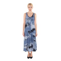 Abstract #3 Full Print Maxi Dress