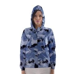 Abstract #3 Hooded Wind Breaker (women)