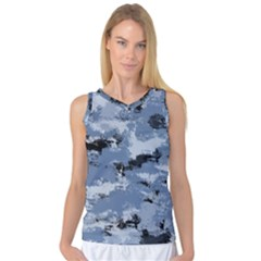 Abstract #3 Women s Basketball Tank Top