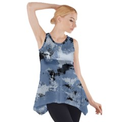 Abstract #3 Side Drop Tank Tunic