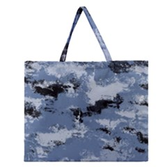 Abstract #3 Zipper Large Tote Bag