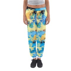 Abstract #4 Women s Jogger Sweatpants
