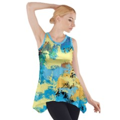 Abstract #4 Side Drop Tank Tunic