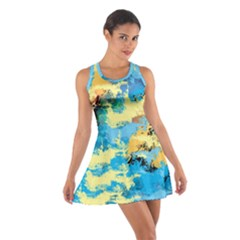 Abstract #4 Racerback Dresses