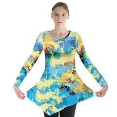 Abstract #4 Long Sleeve Tunic