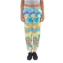 Abstract #5 Women s Jogger Sweatpants