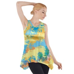 Abstract #5 Side Drop Tank Tunic