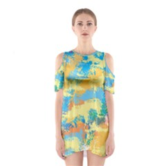 Abstract #5 Cutout Shoulder Dress