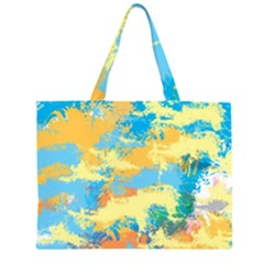 Abstract #5 Large Tote Bag