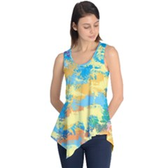 Abstract #5 Sleeveless Tunic