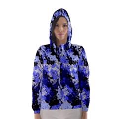 Abstract #7 Hooded Wind Breaker (Women)