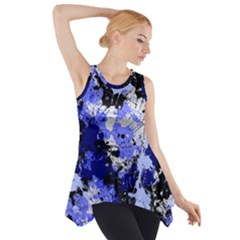 Abstract #7 Side Drop Tank Tunic