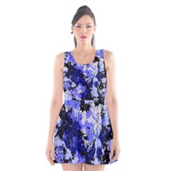Abstract #7 Scoop Neck Skater Dress
