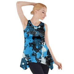 Abstract #8 Side Drop Tank Tunic