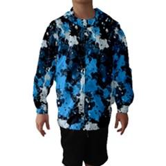 Abstract #8 Hooded Wind Breaker (Kids)