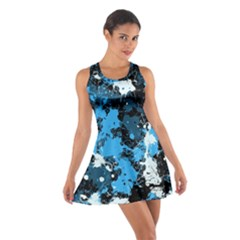 Abstract #8 Racerback Dresses